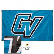 Grand Valley State Lakers Nylon Embroidered Flag
