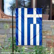 Greece Double Sided Garden Flag