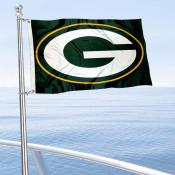 Green Bay Packers Boat and Nautical Flag