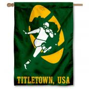 Green Bay Packers Retro Titletown USA House Banner