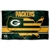 Green Bay Packers USA Country Flag