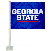 GSU Panthers Logo Car Flag
