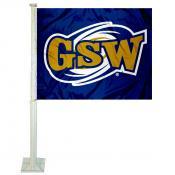 GSW Canes Logo Car Flag