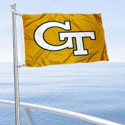 GT Yellow Jackets Golf Cart Flag