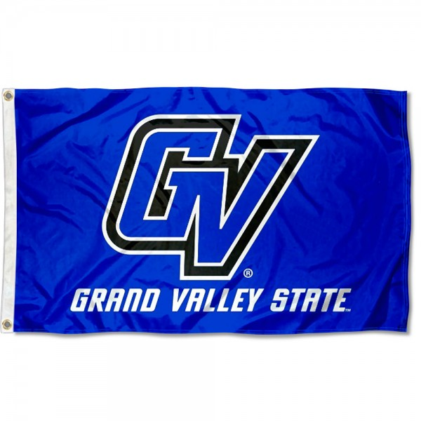 GVSU Flag measures 3'x5', is made of 100% poly, has quadruple stitched sewing, two metal grommets, and has double sided Team University logos. Our GVSU Flag is officially licensed by the selected university and the NCAA.