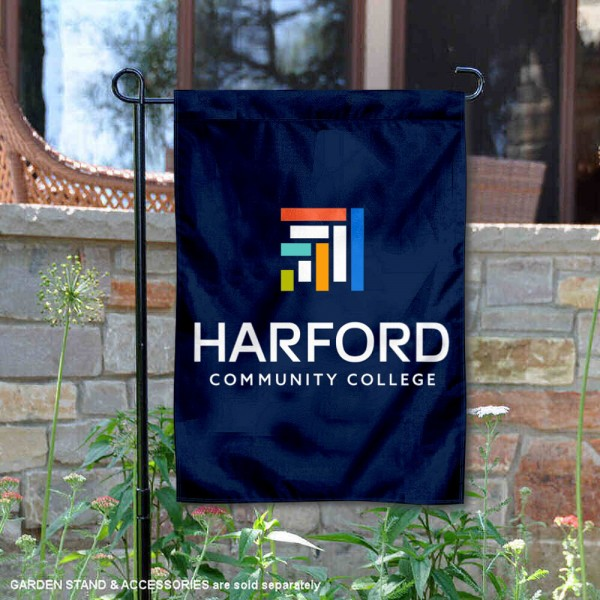 Harford College Fighting Owls Wordmark Logo Garden Flag is 13x18 inches in size, is made of 2-layer polyester, screen printed university athletic logos and lettering, and is readable and viewable correctly on both sides. Available same day shipping, our Harford College Fighting Owls Wordmark Logo Garden Flag is officially licensed and approved by the university and the NCAA.