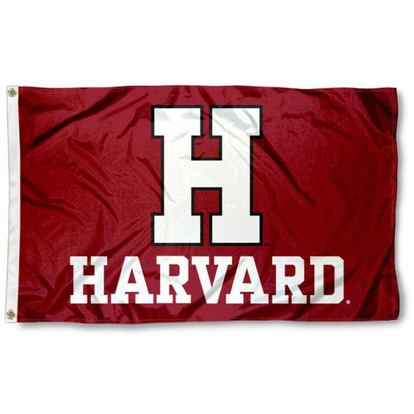 Harvard Crimson Athletic Logo Flag is made of 100% nylon, offers quad stitched flyends, measures 3x5 feet, has two metal grommets, and is viewable from both side with the opposite side being a reverse image. Our Harvard Crimson Athletic Logo Flag is officially licensed by the selected college and NCAA