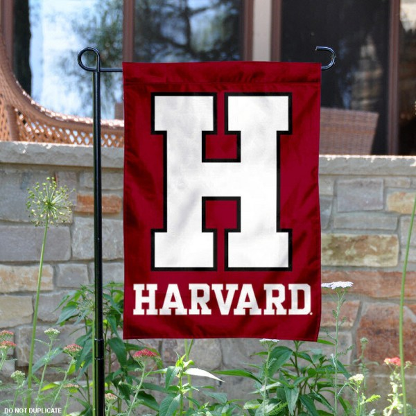 Harvard Crimson Garden Flag is 13x18 inches in size, is made of 2-layer polyester, screen printed Harvard Crimson athletic logos and lettering. Available with Same Day Express Shipping, Our Harvard Crimson Garden Flag is officially licensed and approved by Harvard Crimson and the NCAA.