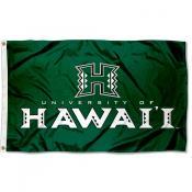 Hawaii Warriors Green Flag