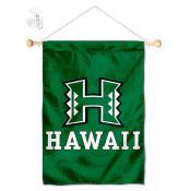 Hawaii Warriors Window and Wall Banner