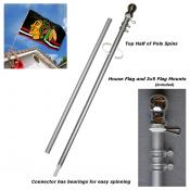 Heavy Duty Aluminum 6' Flagpole