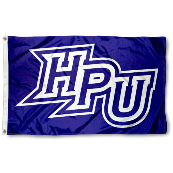 High Point Panthers Flag is made of 100% nylon, offers quad stitched flyends, measures 3x5 feet, has two metal grommets, and is viewable from both side with the opposite side being a reverse image. Our High Point Panthers Flag is officially licensed by the selected college and NCAA