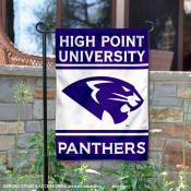 High Point Panthers Garden Flag