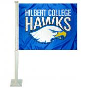 Hilbert College Hawks Car Window Flag