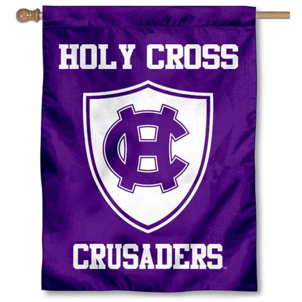 Holy Cross Crusaders Shield House Flag is a vertical house flag which measures 30x40 inches, is made of 2 ply 100% polyester, offers screen printed NCAA team insignias, and has a top pole sleeve to hang vertically. Our Holy Cross Crusaders Shield House Flag is officially licensed by the selected university and the NCAA.