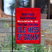Hotty Toddy Garden Flag