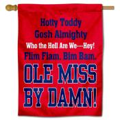 Hotty Toddy Ole Miss House Banner