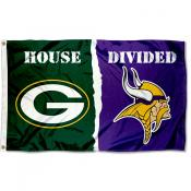 House Divided Flag - Packers vs. Vikings