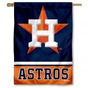 Houston Astros Double Sided House Flag