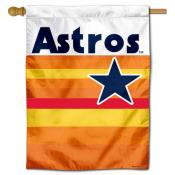 Houston Astros Vintage Double Sided House Flag