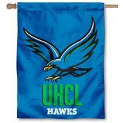 Houston Clear Lake Hawks House Flag