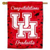 Houston Cougars Congratulations Graduate Flag