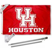 Houston Cougars Flag Pole and Bracket Kit