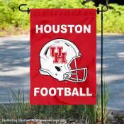 Houston Cougars Helmet Yard Garden Flag