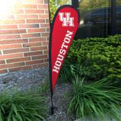 Houston Cougars Small Feather Flag