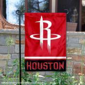 Houston Rockets Garden Flag