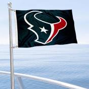 Houston Texans Boat and Nautical Flag