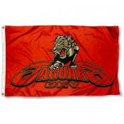 Houston Victoria Jaguars Flag