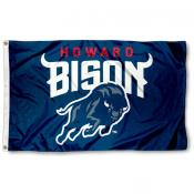 Howard Bison New Logo Flag