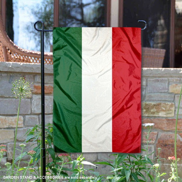 Hungary Double Sided Garden Flag is 13x18 inches in size, is made of 2-layer polyester, screen printed logos and lettering, and is viewable on both sides. Available same day shipping, our Hungary Double Sided Garden Flag is a great addition to your decorative garden flag selections.
