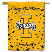 Idaho Vandals Congratulations Graduate Flag