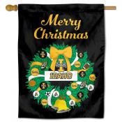 Idaho Vandals Happy Holidays Banner Flag