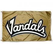 Idaho Vandals Wordmark Flag