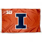 Illinois Big 10 Flag