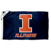 Illinois Fighting Illini Large 6'x10' Flag