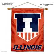 Illinois Fighting Illini Wall Banner