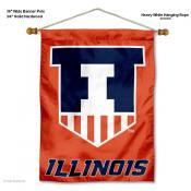 Illinois Fighting Illini Wall Banner