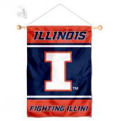 Illinois Fighting Illini Window and Wall Banner
