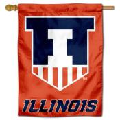 Illinois Illini Victory Badge Crest Banner Flag
