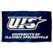 Illinois Springfield Prairie Stars Flag