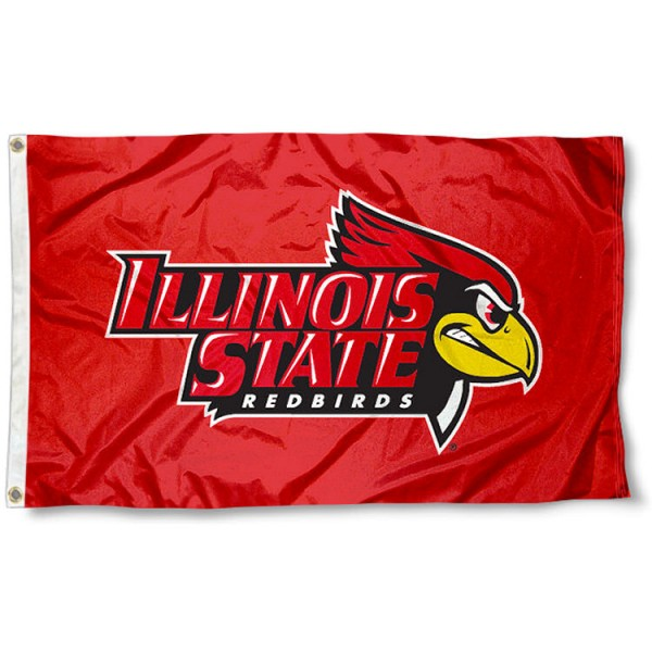 Illinois State Red Logo Flag measures 3'x5', is made of 100% poly, has quadruple stitched sewing, two metal grommets, and has double sided ISU Redbirds logos. Our Illinois State Red Logo Flag is officially licensed by the selected university and the NCAA.