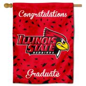 Illinois State Redbirds Congratulations Graduate Flag