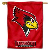 Illinois State Redbirds House Flag