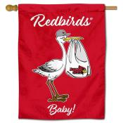 Illinois State Redbirds New Baby Flag