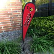 Illinois State Redbirds Small Feather Flag