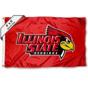 Illinois State University Large 4x6 Flag